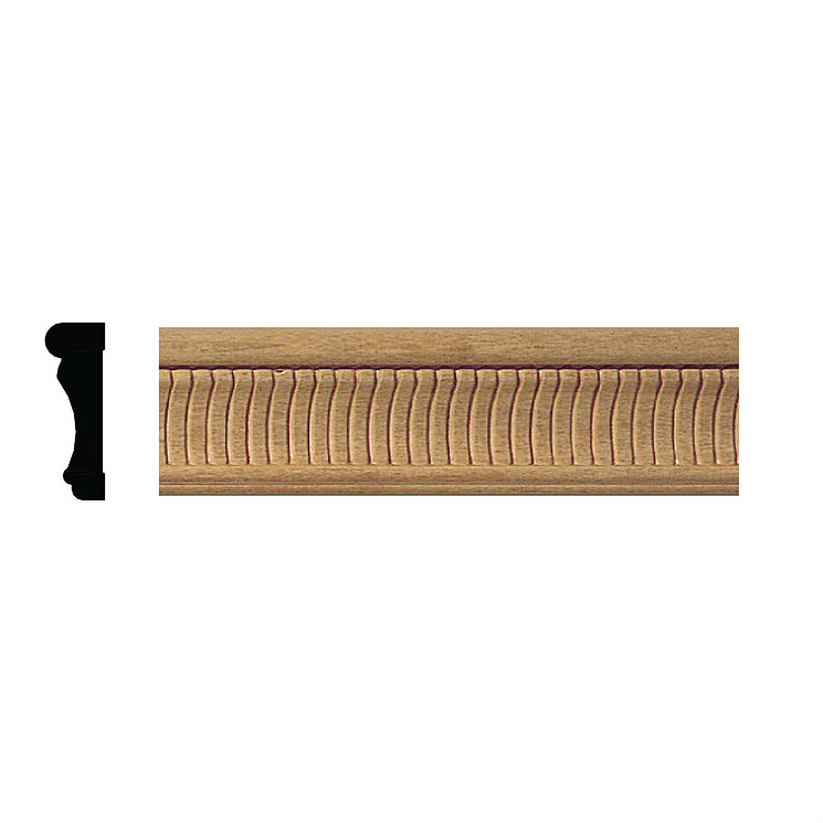 Jaden Ornamental Mouldings :: 689 Chair Rail Embossed
