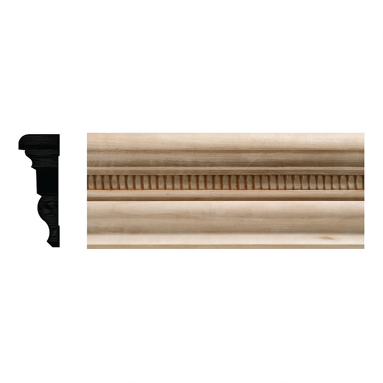 Jaden Ornamental Mouldings: 685 Ceiling Cornice Embossed