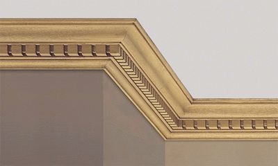 how to cut timber cornice